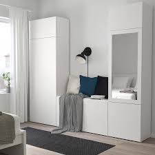 platsa kledingkast met 9 deuren wit fonnes ridabu ikea
