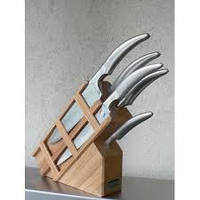 bloc couteaux cuisine vente couteau de cuisine par goyon chazeau forgé styl ver tout inox