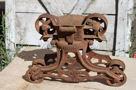 Antique Barn Pulleys