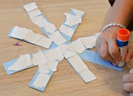 And Kindergartners This Paper Snowflake Craft Is An Easy Winter For Toddlers Preschoolers