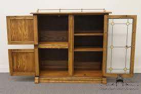 Pulaski Furniture Curio Cabinet by High End Used Furniture Pulaski Furniture Keepsakes Golden Oak