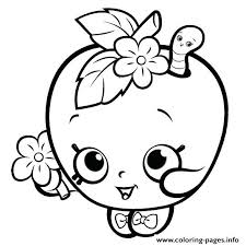 Full Image For Www Coloring Pages Kids Com Disney Print Cute Shopkins Girls