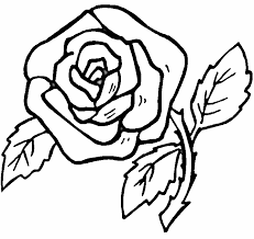 Download Free Rose Coloring Pages Printable Or Print