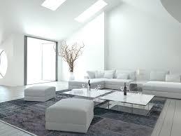 dachgeschoss wohnung weiss grau sofa teppich ratgeber haus