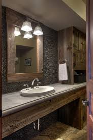 Appealing Chrome Industrial Bathroom Lighting And Look Vanity With Picturesque Then
