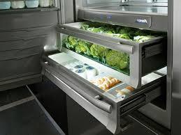 schubladen kühlschrank praktisch und cool archzine net