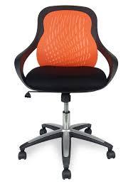 Evo Mesh fice Chair Orange