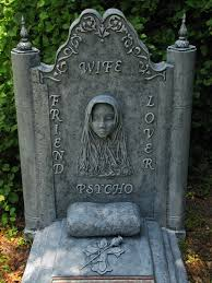 Funny Halloween Tombstones For Sale by Okay It U0027s Funny One Smile For The Night Win Wine Whine What