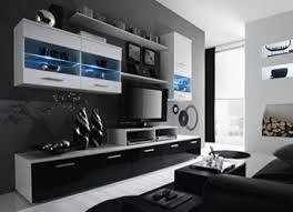 furnistad moderne wohnwand aiden exklusive mediamöbel wohnzimmerschrank anbauwand tv schrank led beleuchtung gratis kostenfreie lieferung