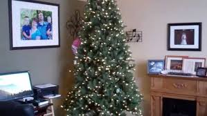 Costco Ez Connect Artificial Christmas Tree 9Ft Set Up Youtube Pertaining To