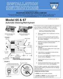 Woodford Outdoor Faucet Model 14 by Woodford Model 65 B65 Modular U0026 Round Box Hydrants