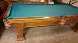 100 Kd Pool Antique Brunswick 9 Table KD Game Room Supply