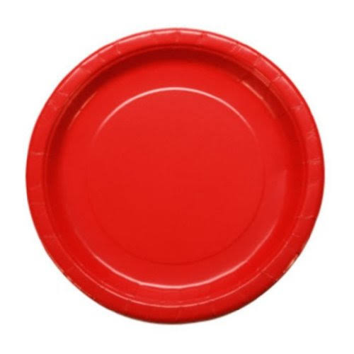 "Party! Red,9"" Round-20 Count"
