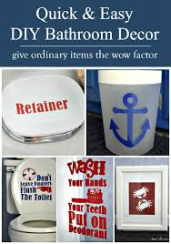 Awesome Ideas To Customize Your Kids Bathroom These Are Nautical Themed But You Could Do