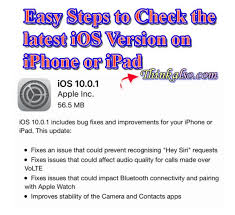 Tips] How to Check Latest Version of iOS on iPhone 6 6S or iPad iPod