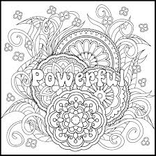 Positive Coloring Page And Pages