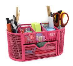 Desk Drawer Organizer Amazon by Amazon Com Mesh Desk Organizer Office Supply Caddy Drawer With