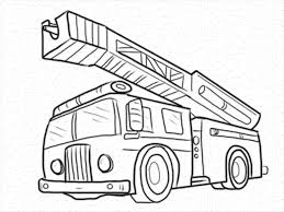 100 Fire Truck Drawing Aldoilsantcom