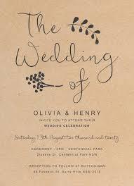 Charcoal Rustic Wedding Invitations