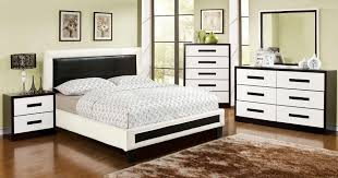 Two Tone Bedroom Furniture With Wicker