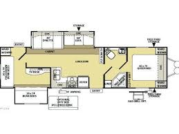 Image Result For Bunkhouse Triple Slide Floor Plans Trailer