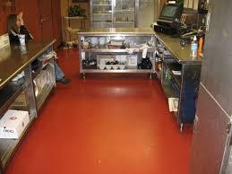 Poured Epoxy Flooring Kitchen by Inspirational Epoxy Kitchen Floor Taste