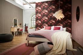 tapete vlies new walls blumen schwarz rot grün 37392 4
