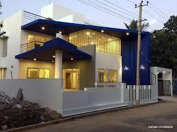 100 Villa Houses In Bangalore Malas 50 X 80 Ft Bungalow Dia By Ashwin Architects Ashwin