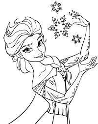 Frozen Pages Princess Coloring Disney Games Fever Castle Medium Size