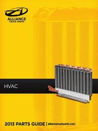 Alliance Truck Parts HVAC Catalog | Mechanical Fan | Hvac