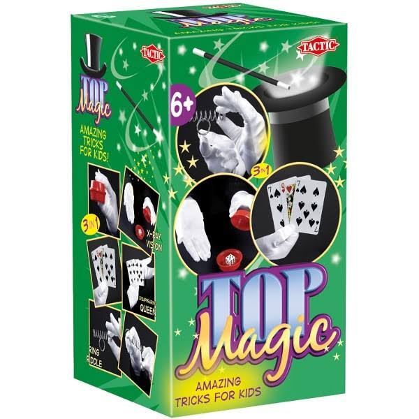 Tactic Top Magic Tricks - 3 in 1 - X-Ray Vision