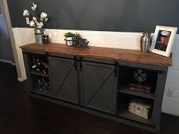 DIY Sliding Barn Door Entertainment Center Pictures Urban Woodcraft Interior Barn Door Reviews Wayfair Doors Tv Custom Sized And Finished Www Gracie Oaks Cleveland 60 Stand Farmhouse Woodwaves 50 Ways To Use Sliding In Your Home 27 Awesome Ideas For The Homelovr Remodelaholic 95 To Hide Or Decorate Around Custom Made Reclaimed Wood By Heirloom Llc Headboard Window Covers Youtube 9 You Can Southern California Double Closet