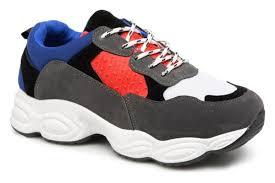 Fruhling Und Herbst Neu Damen Schuhe Blue I Love Shoes THICHUNK Bold 172599