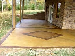 staggering patio concrete floor car ideas overwhelming patio