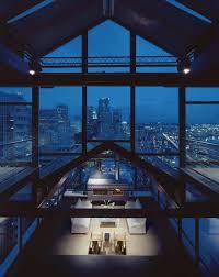 100 Seattle Penthouses Minimalist Penthouse Apartment Overlooking The