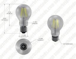 a19 led bulb 40 watt equivalent led filament bulb 12v dc 490