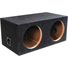 ATREND-BBOX E12D B Box Series Dual Sealed Bass Boxes 12