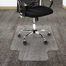 Desk Chair Mat For Carpet by Office Protects Low Pile Carpets And Any Floor With Office Chair