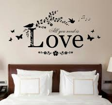 Creative Of Romantic Bedroom Wall Decor Ideas With Art Astounding For Enchanting