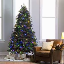 Pre Lit Decorated Pull Up Christmas Trees Luxury 46 Led Tree