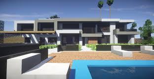 104 Beverly Hills Modern Homes Mansion Minecraft Map