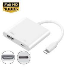 Apple Lightning Digital AV Plug to HDMI Adapter iPhone 5 6 7 iPad