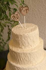 Wedding Cake Cakes Rustic Topper Beautiful Heart To In Ideas