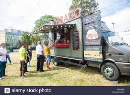 Milan, Italy. 17th September, 2016. Streeat - Food Truck Festival ...