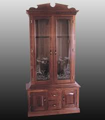 Wooden Gun Cabinet With Etched Glass by Engraving U2013