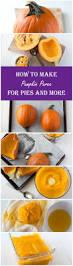 Pumpkin Puree Vs Pumpkin Pie Filling by How To Make Fresh Pumpkin Puree