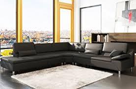 canapé d angle 7 places cuir canapé d angle en cuir luxe italien 6 7 places plenitude noir