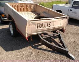 8' Pickup Truck Bed Trailer | Item F7762 | SOLD! June 3 Vehi...
