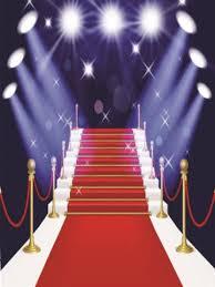 KatebackdropKate Children Blue Sky Light Red Carpet Backdrops
