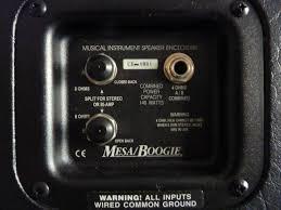 Mesa Boogie Cabinet 2x12 by Mesa Boogie Road King 2x12 Image 477074 Audiofanzine